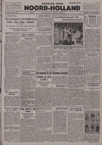 Dagblad Noord-Holland, Schager editie 1942-11-20
