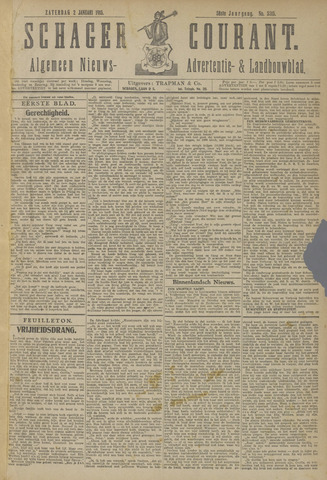 Schager Courant 1915
