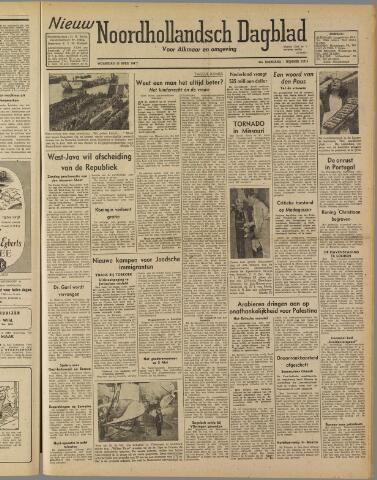 Nieuw Noordhollandsch Dagblad : voor Alkmaar en omgeving 1947-04-30