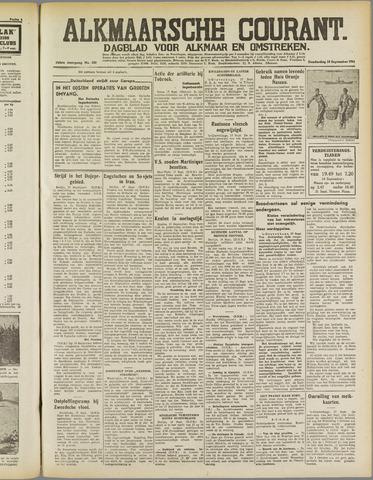 Alkmaarsche Courant 1941-09-18