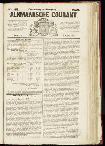 Alkmaarsche Courant 1859-10-23