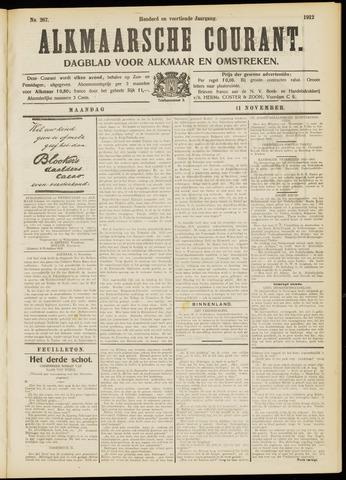 Alkmaarsche Courant 1912-11-11