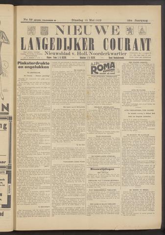 Nieuwe Langedijker Courant 1929-05-21