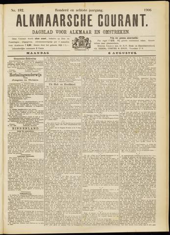 Alkmaarsche Courant 1906-08-06