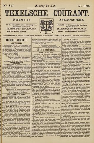 Texelsche Courant 1895-07-21
