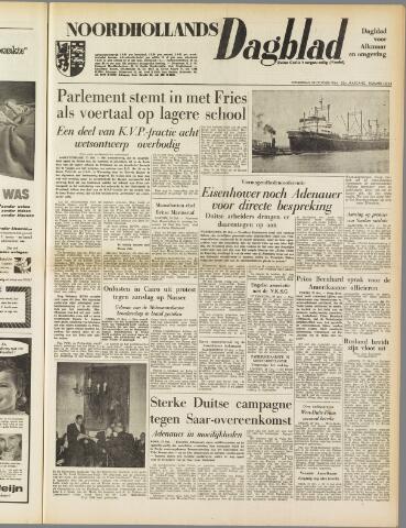 Noordhollands Dagblad : dagblad voor Alkmaar en omgeving 1954-10-28