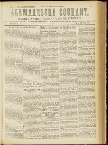 Alkmaarsche Courant 1918-08-17