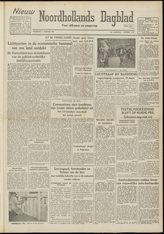 Nieuw Noordhollandsch Dagblad : voor Alkmaar en omgeving 1948-02-11