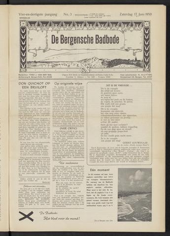Bergensche bad-, duin- en boschbode 1950-06-17