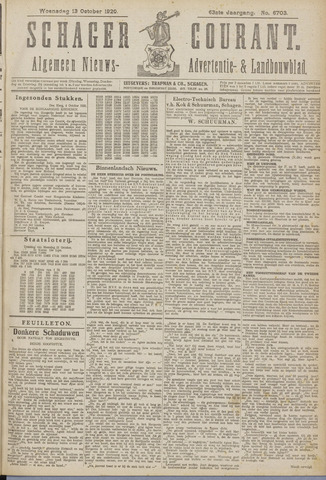 Schager Courant 1920-10-13