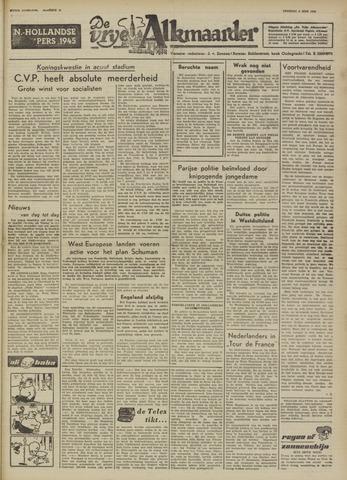 De Vrije Alkmaarder 1950-06-06