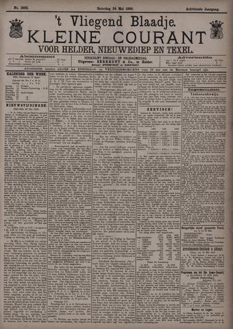 Vliegend blaadje : nieuws- en advertentiebode voor Den Helder 1890-05-24