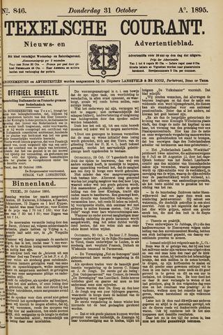Texelsche Courant 1895-10-31