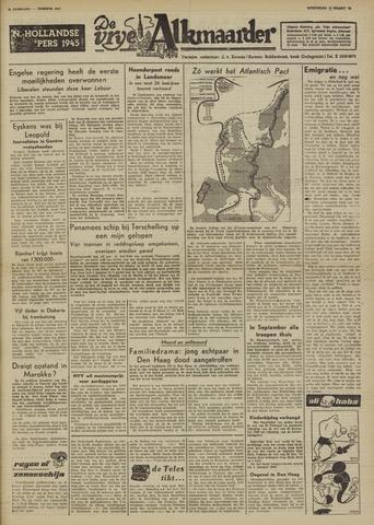 De Vrije Alkmaarder 1950-03-15