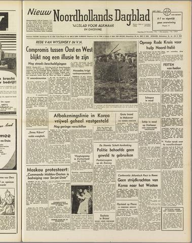 Nieuw Noordhollandsch Dagblad : voor Alkmaar en omgeving 1951-11-26