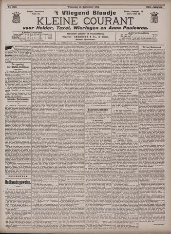 Vliegend blaadje : nieuws- en advertentiebode voor Den Helder 1904-09-28