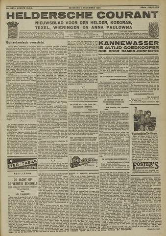 Heldersche Courant 1930-11-01