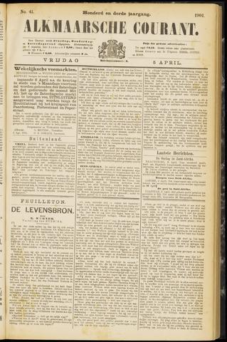 Alkmaarsche Courant 1901-04-05