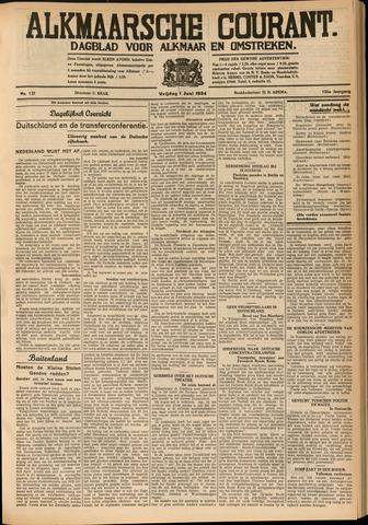 Alkmaarsche Courant 1934-06-01