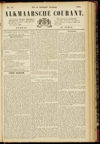 Alkmaarsche Courant 1884-04-20
