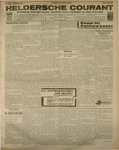 Heldersche Courant 1931-08-29