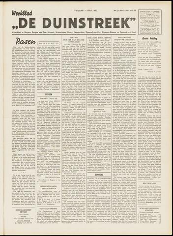 De Duinstreek 1953-04-03