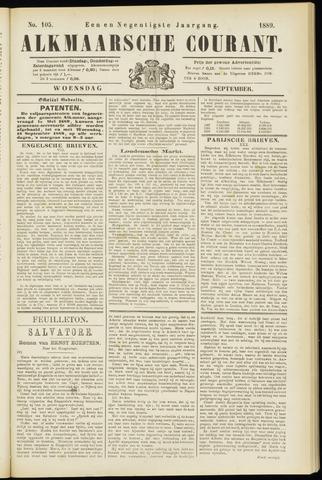 Alkmaarsche Courant 1889-09-04