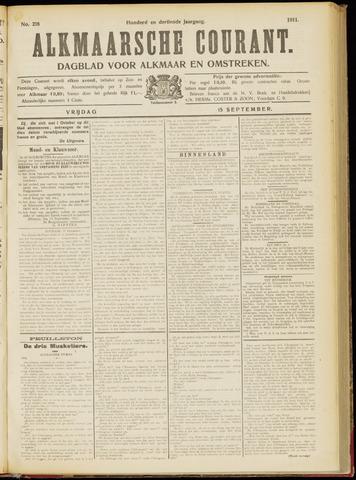 Alkmaarsche Courant 1911-09-15
