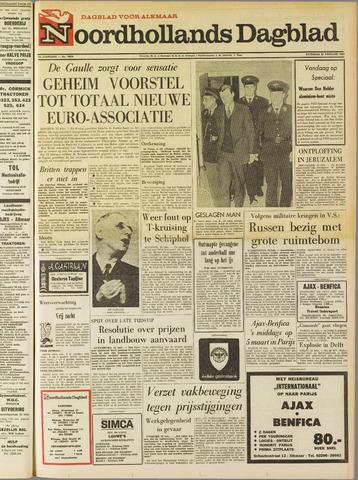 Noordhollands Dagblad : dagblad voor Alkmaar en omgeving 1969-02-22