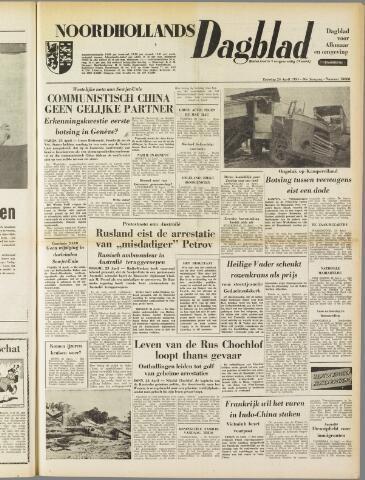 Noordhollands Dagblad : dagblad voor Alkmaar en omgeving 1954-04-24