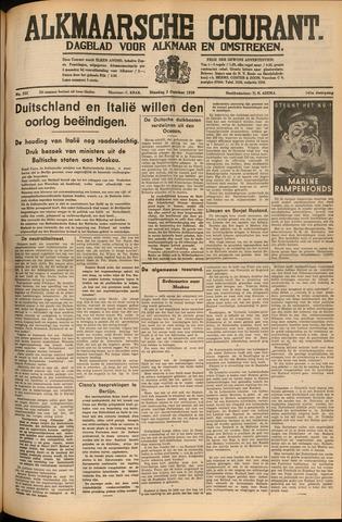 Alkmaarsche Courant 1939-10-03