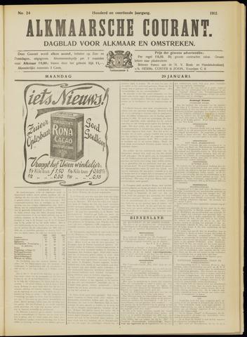 Alkmaarsche Courant 1912-01-29
