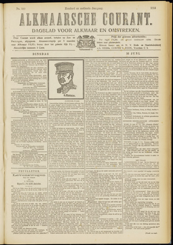 Alkmaarsche Courant 1914-06-16