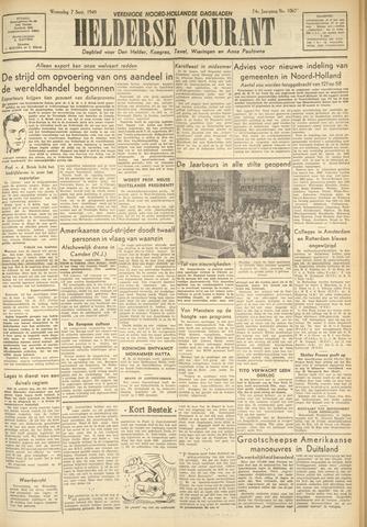 Heldersche Courant 1949-09-07