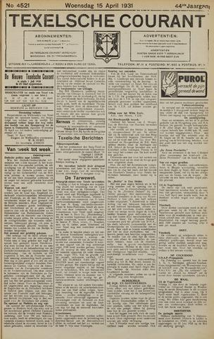Texelsche Courant 1931-04-15