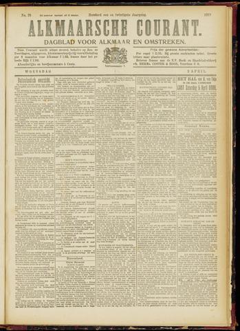 Alkmaarsche Courant 1919-04-02