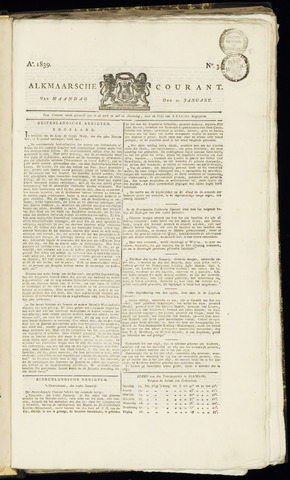 Alkmaarsche Courant 1839-01-21