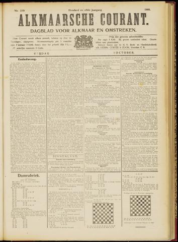 Alkmaarsche Courant 1909-10-01