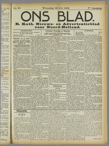 Ons Blad : katholiek nieuwsblad voor N-H 1909-07-28