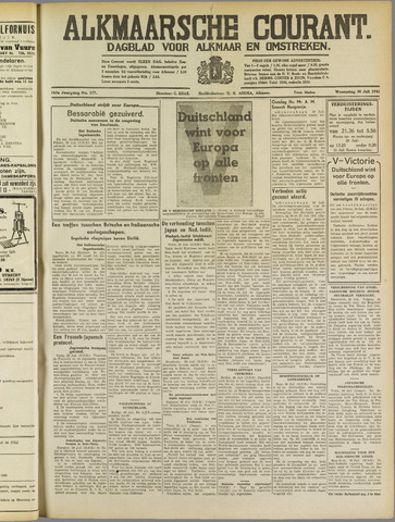 Alkmaarsche Courant 1941-07-30