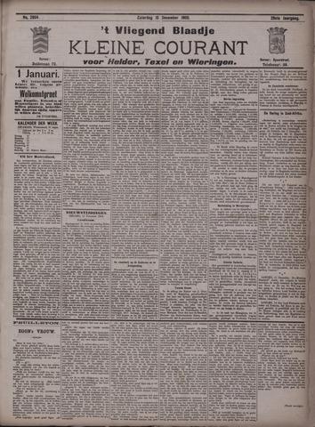 Vliegend blaadje : nieuws- en advertentiebode voor Den Helder 1900-12-15
