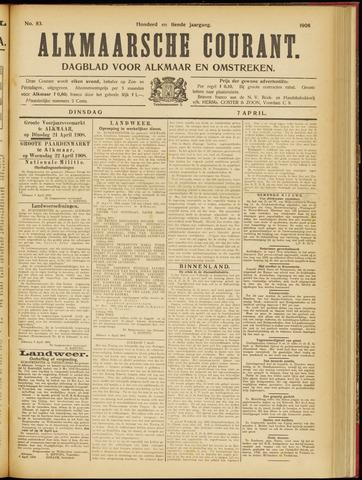 Alkmaarsche Courant 1908-04-07