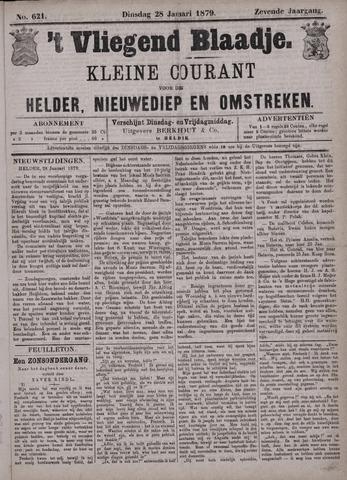 Vliegend blaadje : nieuws- en advertentiebode voor Den Helder 1879-01-28