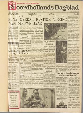 Noordhollands Dagblad : dagblad voor Alkmaar en omgeving 1965-01-02
