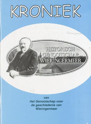 Kroniek Historisch Genootschap Wieringermeer 2006-04-01