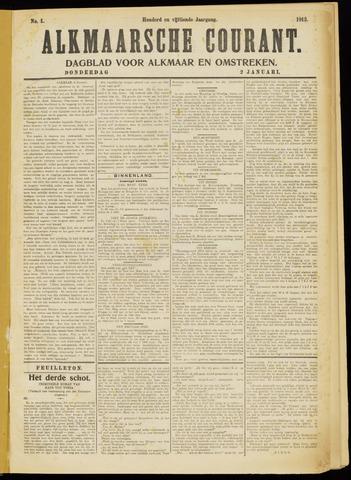 Alkmaarsche Courant 1913-01-02