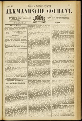 Alkmaarsche Courant 1885-05-20
