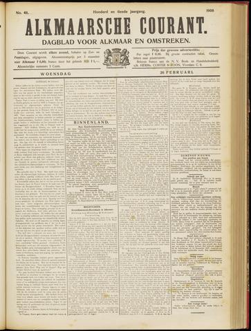 Alkmaarsche Courant 1908-02-26