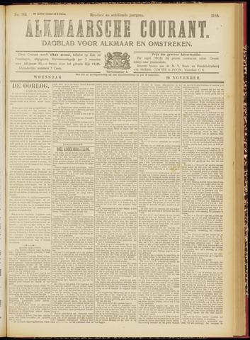 Alkmaarsche Courant 1916-11-29