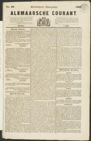 Alkmaarsche Courant 1868-07-05